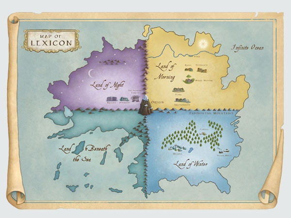 Map of the Land of Lexicon